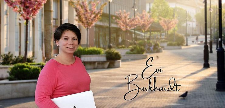 Virtuelle Assistentin Evi Burkhardt
