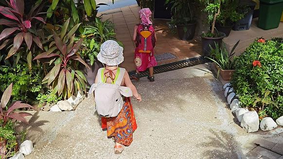 Kinder auf Weltreise