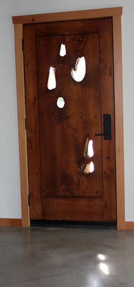 Custom Crafted Door, Alaskan Yellow Ceda