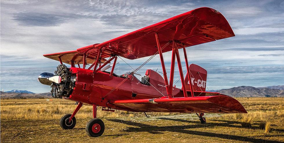 Red Cat Biplane Flights - Aviation Adventures Ltd