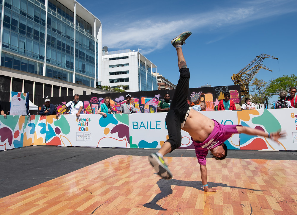 Breaking at the Buenos Aires 2018 Youth Olympic Games