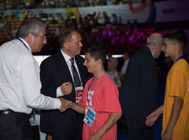 4_IOC VP Erdener, WDSF President Hinder.
