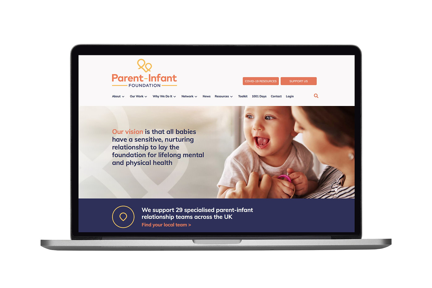Parent-Infant Foundation Website