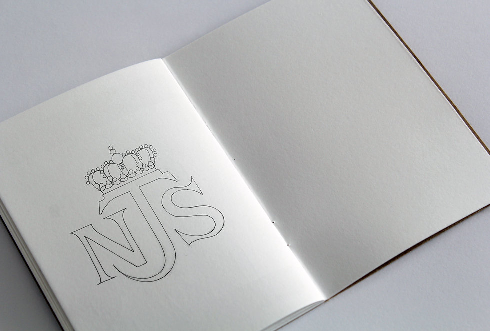 Nicola Jarvis Studio Logo Sketch