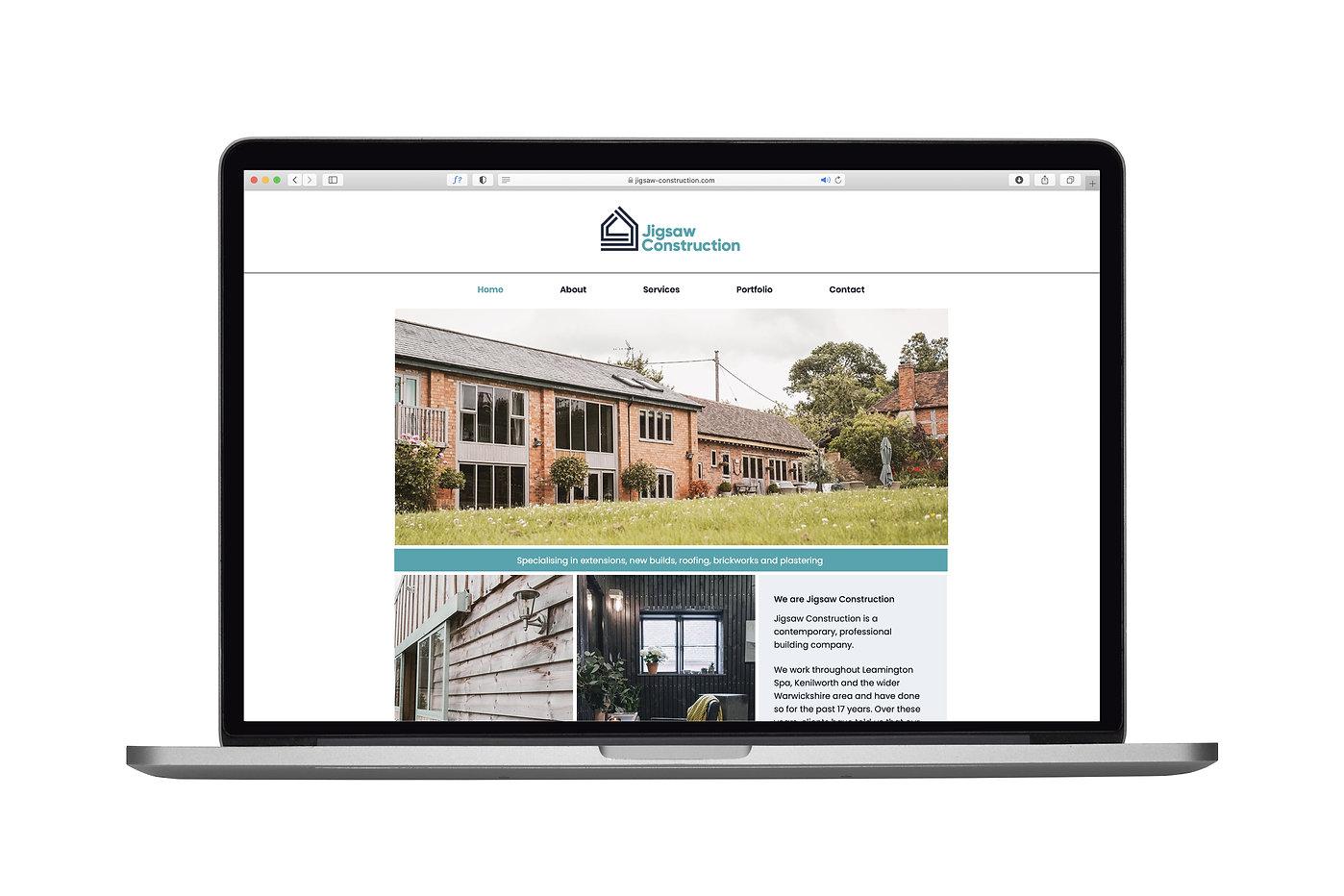 Jigsaw Construction Website