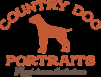 Country Dog Portraits Logo