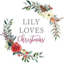 Lily Loves Flora Christmas Logo