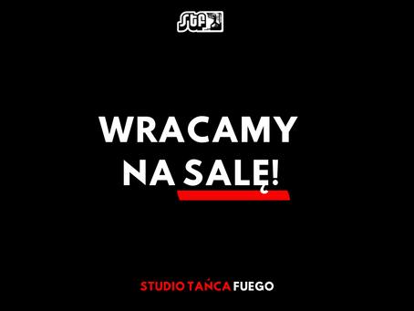 WRACAMY NA SALĘ (od 08.04)