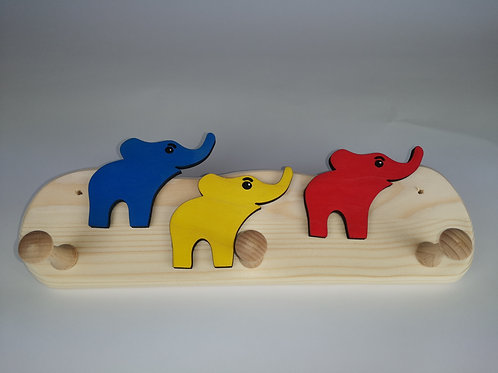Garderobe 3 Elefanten