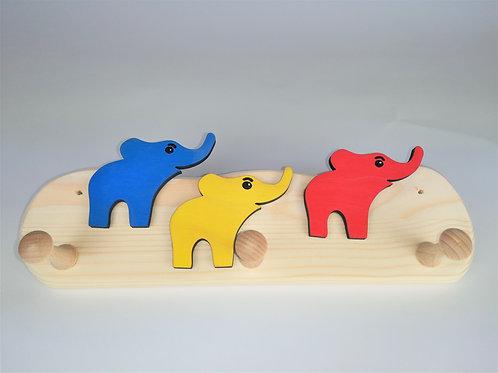 Garderobe klein - 3 Elefanten
