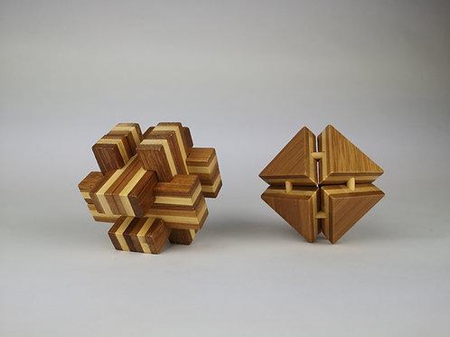 Bambus-Knobelspiele
