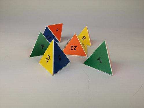 Zahlen-Pyramide