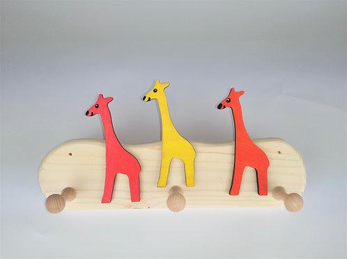 Garderobe klein - 3 Giraffen