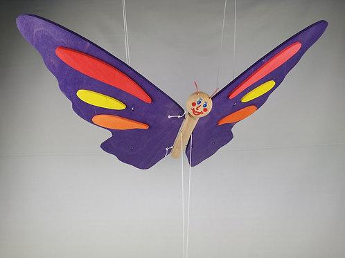 Schmetterling lila
