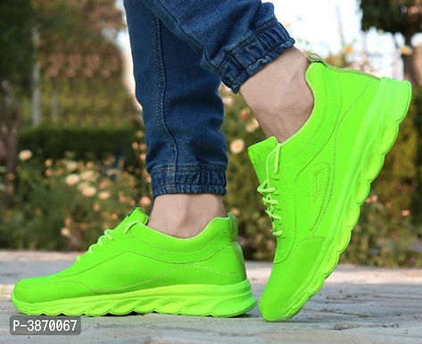 Green Sports Shoes For Men