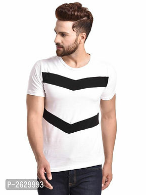 White - Cotton Round Neck T-Shirt