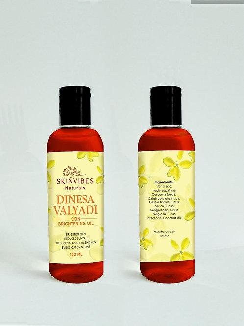 Dinesavalyadi Skin brightening oil 100ml-