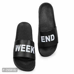Black Sliders For Men