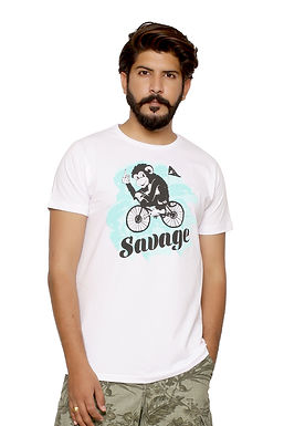 Savage  -Printed Round Neck Tshirt