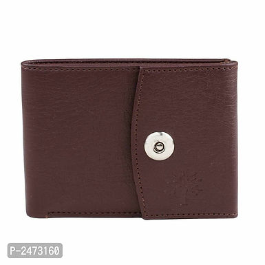 Fresh Arrival Dark Brown Two Fold Wallet