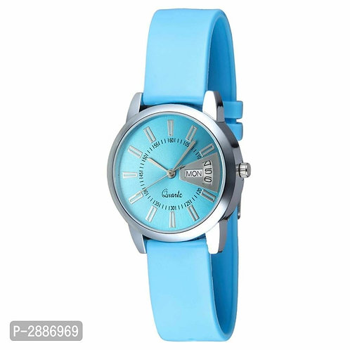 Stylish Analog Watche Blue for Women's