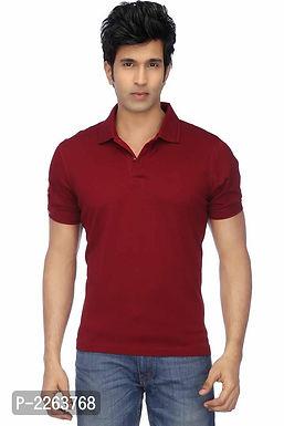 Maroon Polo T Shirt