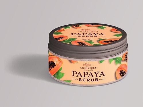 Papaya face scrub 50g-