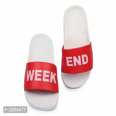 Red Sliders For Men