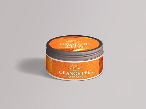 Orange peel face scrub 50g-