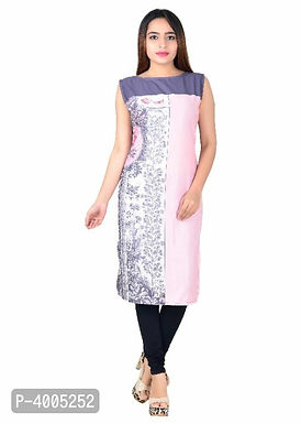 Multicolored Sleeveless Kurtas