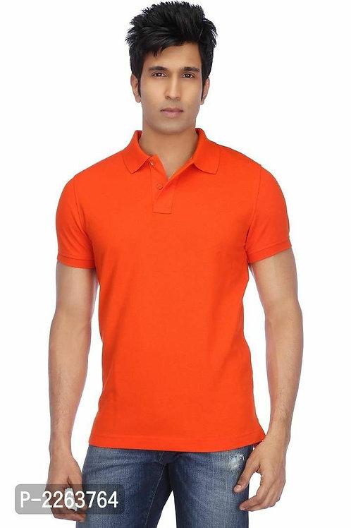Orange Polo T Shirt