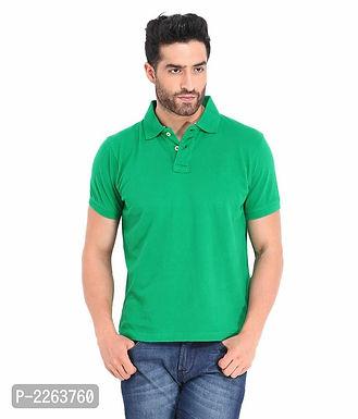 Green Polo T Shirt