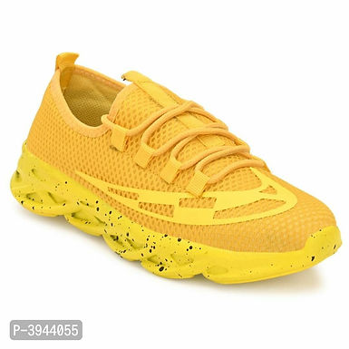 Trendy Collection Of Yellow Sneakers For Men