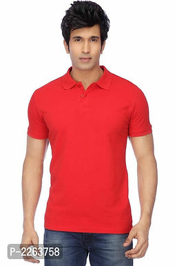 Red Polo T Shirt