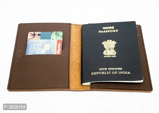 Fresh Arrival Brown Leather Passport Holders