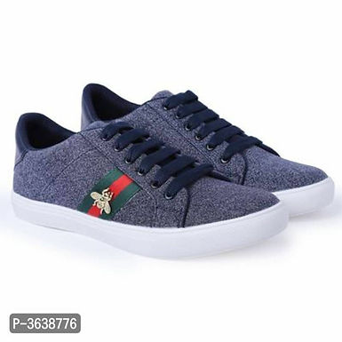 Blue Casual Sneakers