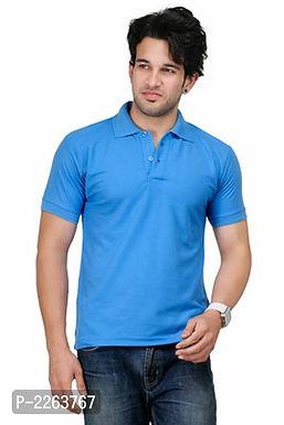 Light Blue Polo T Shirt