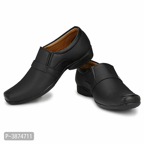 Formal Matt Black Shoes For Men