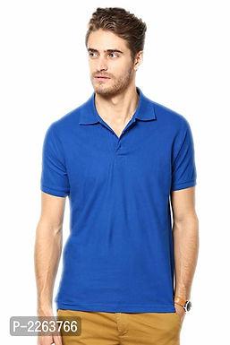Dark Blue Polo T Shirt