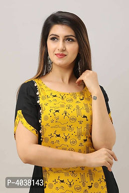 Stylish Multicolor Kurta With Palazzo