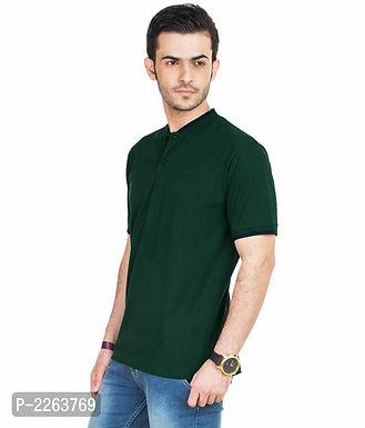 Dark Green Polo T Shirt