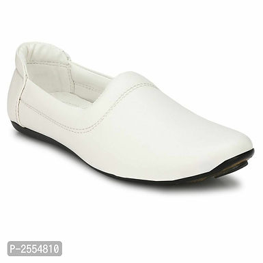 White Ethnic Footwear for Men