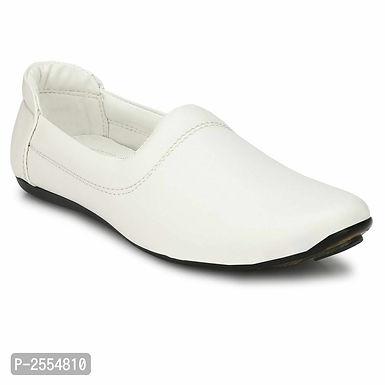 White Ethnic Footwear for Men
