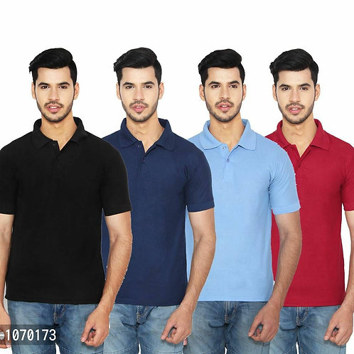 Multicolored Polo Combos