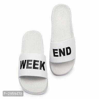 White Sliders For Men