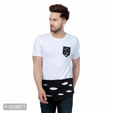 White design- Cotton Round Neck T-Shirt