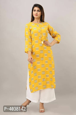 Stylish Light yellow Kurta With Palazzo