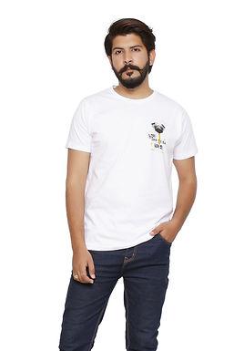 white Round Neck Tshirt