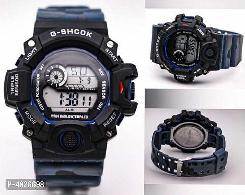 Blue camouflage digital Watch For Men