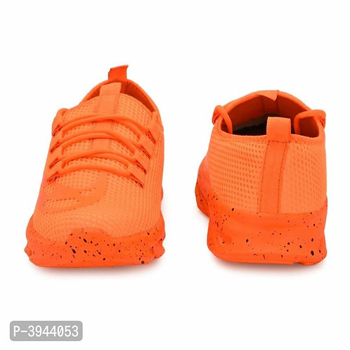Trendy Collection Of Orange Sneakers For Men